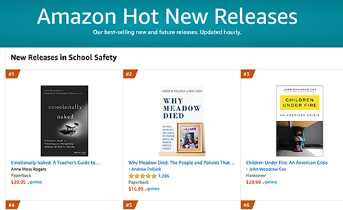 #1 book in school safety