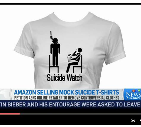 amazon suicide shirts