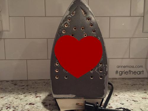 flat and lifeless heart #griefheart