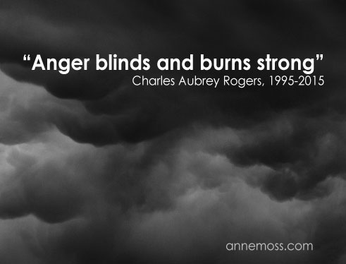 anger blinds and burns strong suicide