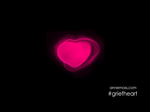 Neon flashing heart