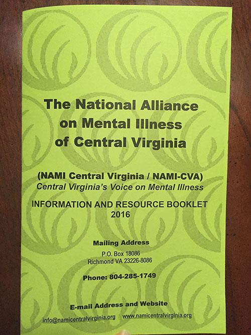NAMI resource book