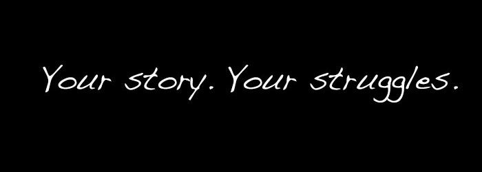 submit your story about addiction, mental illness, grief or depression