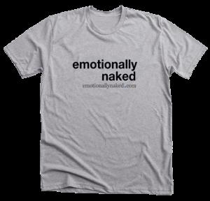 emotionally naked t-shirt