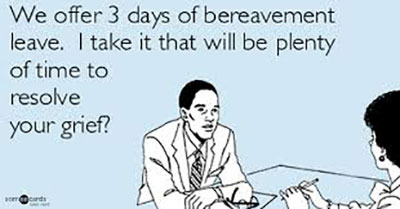 bereavement policy