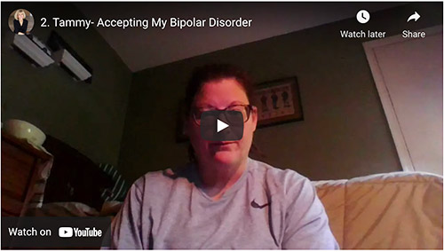 Tammy on accepting her bipolar diagnosis
