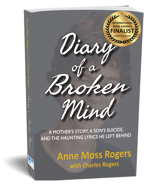diary of a broken mind, award winning book on suicide
