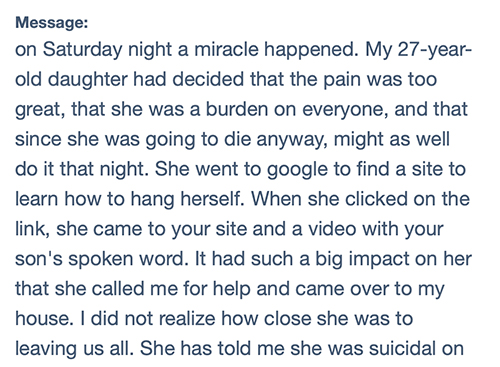 SEO and suicide prevention