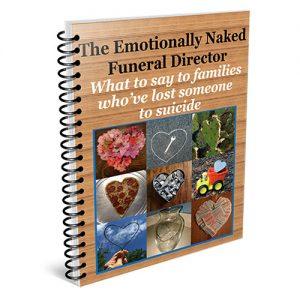 funeral director suicide guide