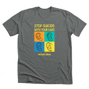 just listen suicide prevention tshirt