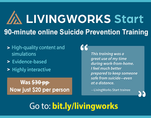 online suicide prevention training
