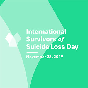 suicide loss day speaker anne moss rogers